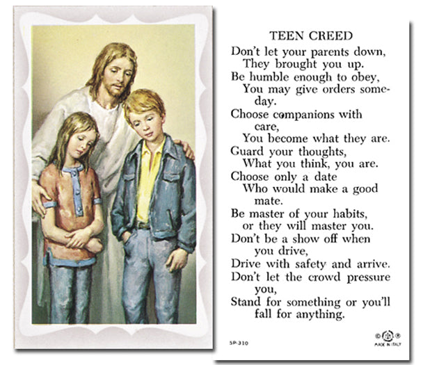 100-Pack - Christ The Comforter with Prayer Holy Card