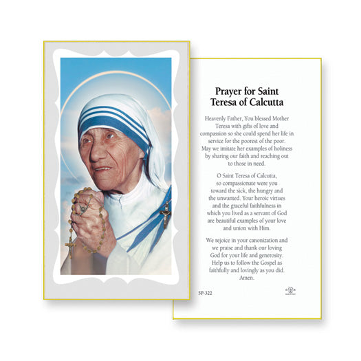 100-Pack - St Teresa Paper Holy Cards