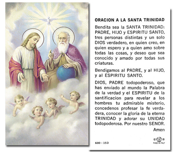 100-Pack - La Santa Trinidad Holy Card
