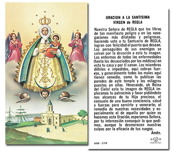 100-Pack - N.S. De Regla Holy Card
