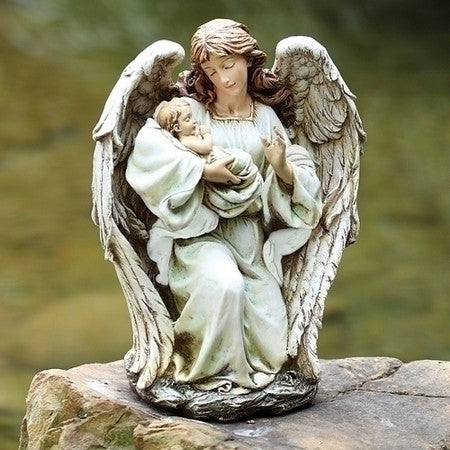 17-inch Angel With Baby