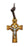 2 1/4-inch Celtic Olive Wood Crucifix Boxed
