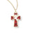 Enameled Cross On Chain