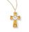 Gold Enameled Cross with Chalice