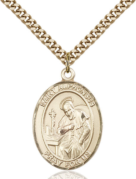 Gold-Filled Saint Alphonsus Necklace Set