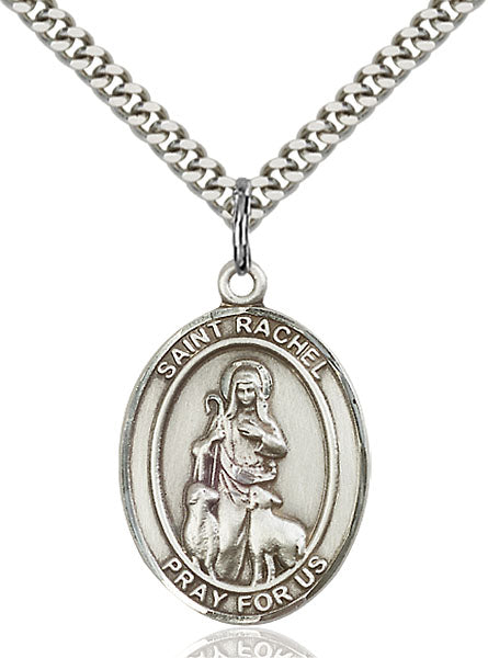 Sterling Silver Saint Rachel Necklace Set