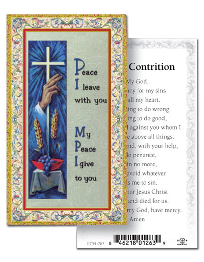 100-Pack - Act Of Contrition Holy Card