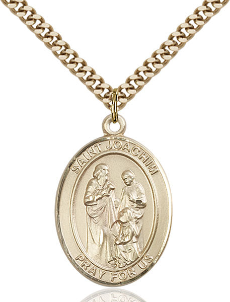 Gold-Filled Saint Joachim Necklace Set
