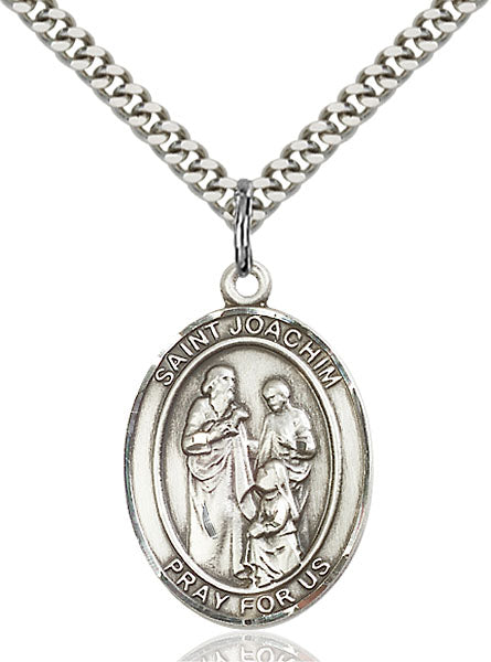 Sterling Silver Saint Joachim Necklace Set