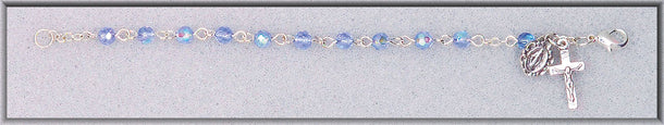 4MM Sapphire Crystal Bracelet Boxed