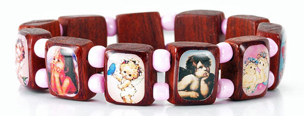 Pink Angel Bracelet Sold In