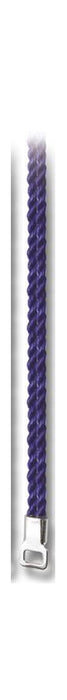 10-Pack - 31-inchDark Blue Cord with Silver Tip