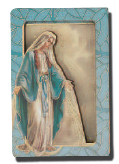 Our Lady Of Grace Dimensional Easel/Magnet Min 5 5-Pack