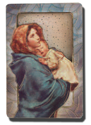 Madonna Of The Street Dimensional Easel/Magnet 5-Pack