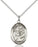 Sterling Silver Saint Anthony of Padua Necklace Set
