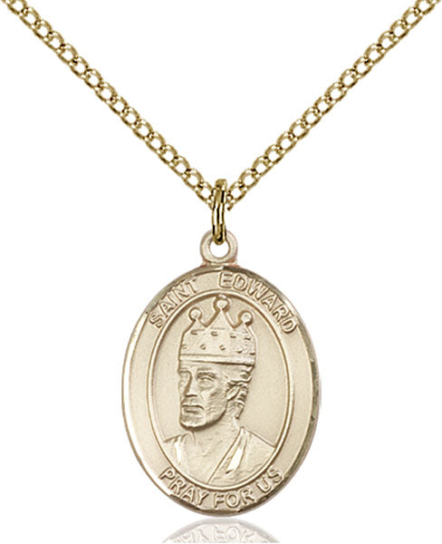 Gold-Filled Saint Edward the Confessor Necklace Set