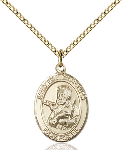 Gold-Filled Saint Francis Xavier Necklace Set