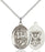 Sterling Silver Saint George Navy Necklace Set