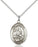 Sterling Silver Saint Gerard Majella Necklace Set