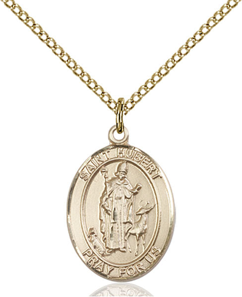 Gold-Filled Saint Hubert of Liege Necklace Set