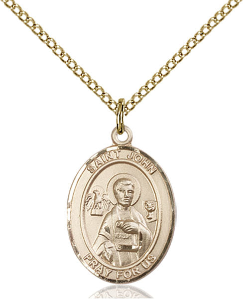 Gold-Filled Saint John the Apostle Necklace Set