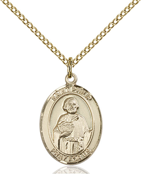 Gold-Filled Saint Philip the Apostle Necklace Set
