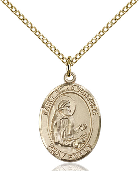Gold-Filled Saint Bonaventure Necklace Set