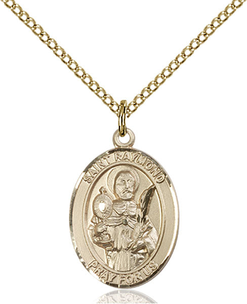 Gold-Filled Saint Raymond Nonnatus Necklace Set