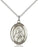 Sterling Silver Saint Rita of Cascia Necklace Set