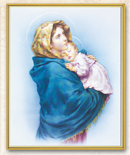 Madonna Of The Street 8X10 Plaque
