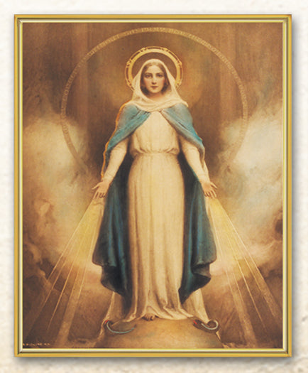 Chambers: Miraculous Mary 8X10 Plaque