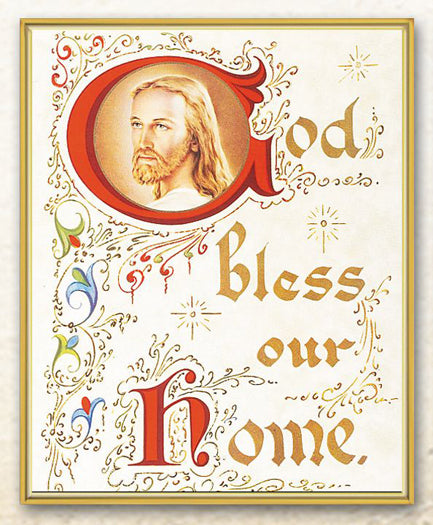 House Blessing 8X10 Plaque