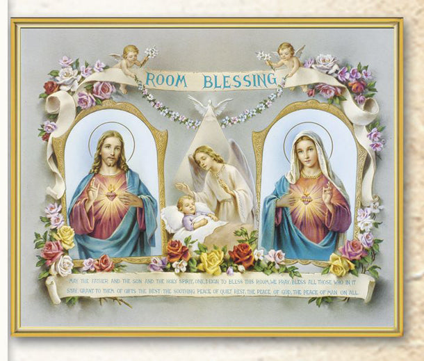 Baby Room Blessing 8X10 Plaque
