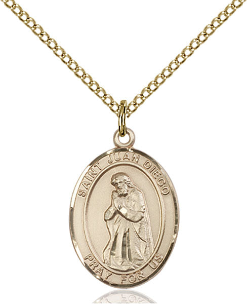 Gold-Filled Saint Juan Diego Necklace Set