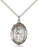 Sterling Silver Saint Juan Diego Necklace Set