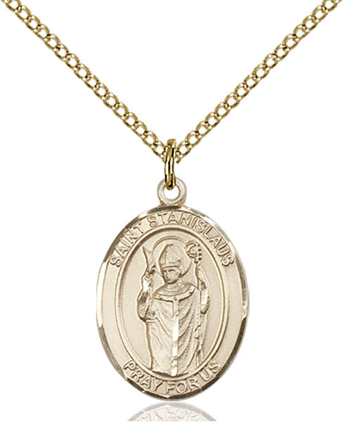 Gold-Filled Saint Stanislaus Necklace Set