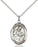 Sterling Silver Saint Ambrose Necklace Set