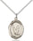 Sterling Silver Saint Sebastian Gymnastics Necklace Set