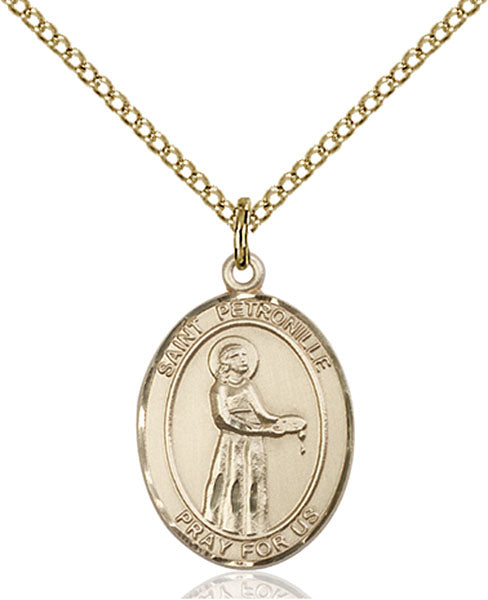 Gold-Filled Saint Petronille Necklace Set