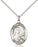 Sterling Silver Saint Therese of Lisieux Necklace Set