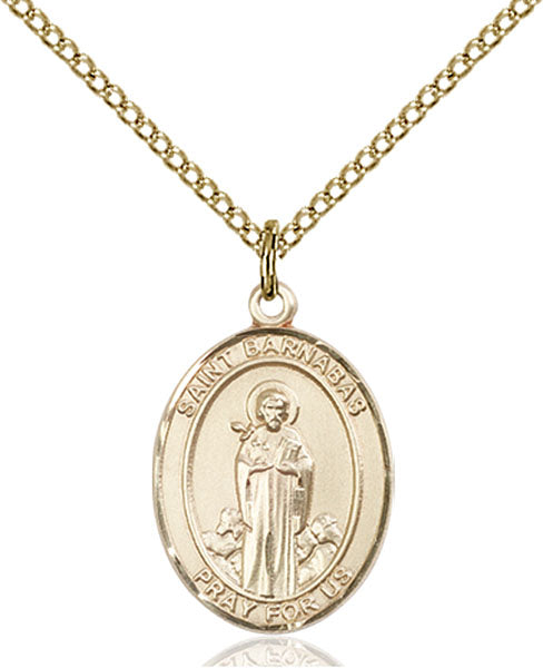 Gold-Filled Saint Barnabas Necklace Set
