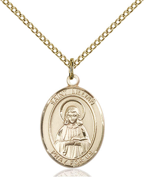 Gold-Filled Saint Lillian Necklace Set