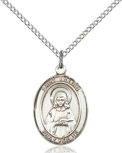 Sterling Silver Saint Lillian Necklace Set