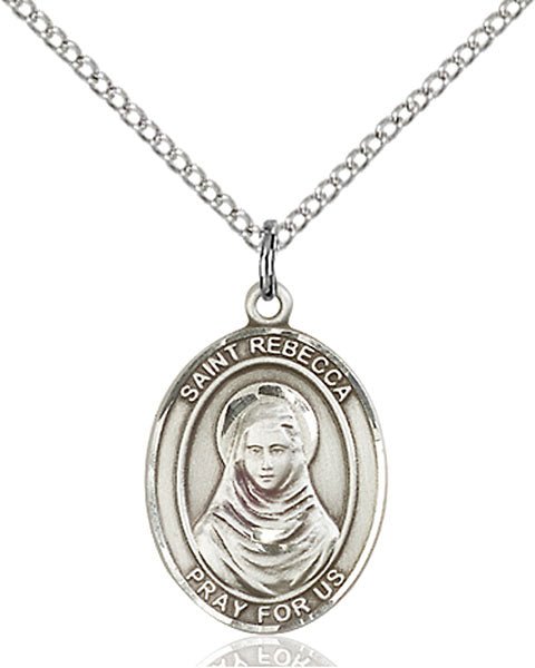 Sterling Silver Saint Rebecca Necklace Set