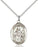 Sterling Silver Saint Walter of Pontnoise Necklace Set