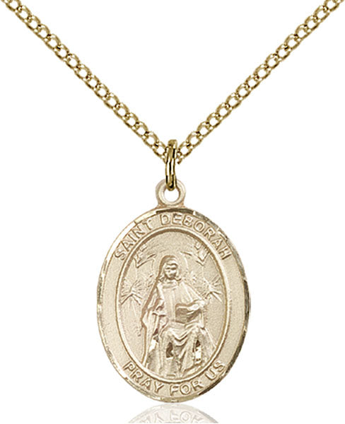 Gold-Filled Saint Deborah Necklace Set
