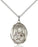 Sterling Silver Mater Dolorosa Necklace Set