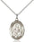 Sterling Silver Saint Athanasius Necklace Set