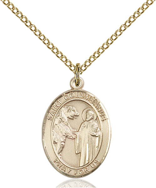 Gold-Filled Saint Columbanus Necklace Set