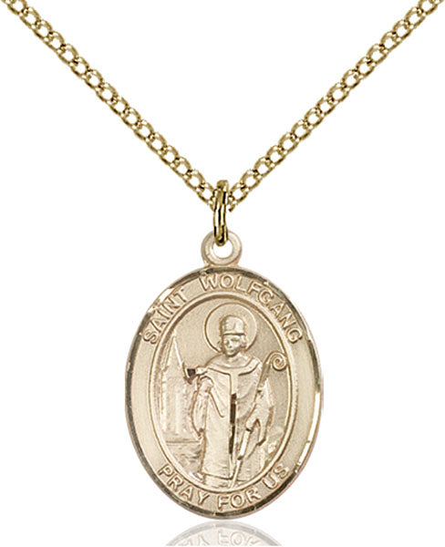 Gold-Filled Saint Wolfgang Necklace Set